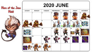 Read more about the article June Event Calendar 2020 for Mobile Hero Wars