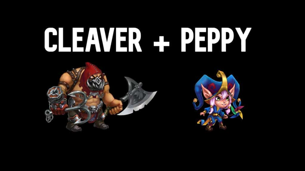 Cleaver and Peppy synergy
